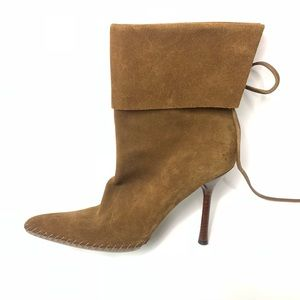 Gucci Suede Boot 8.5 LEFT BOOT ONLY